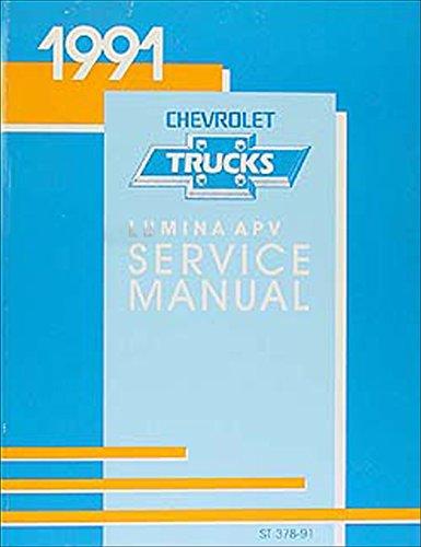 1991 Chevy Lumina APV Minivan Repair Shop Manual Original