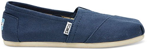 TOMS Women's Canvas Slip-On (8 B(M) US / 38-39 EUR, Navy)