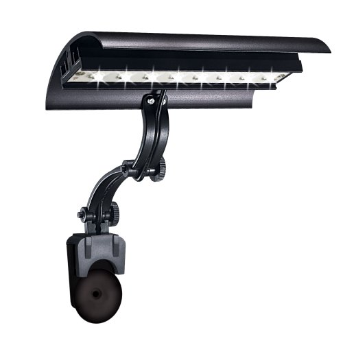 - Wave-point Mirco Sun 6,500 k Daylight High Output 8-Watt LED Fixture Lighting for Aquarium, 6-Inch
