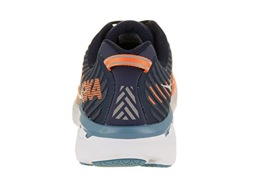 Clifton One Blue 5 Storm Hombre Black Textile Entrenadores One Synthetic Iris Hoka ftqFwq