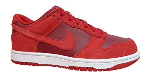 NIKE Dunk Low Scarpe da Ginnastica, 12 EU, (Gym Red Team White 601), 42 EU