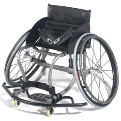 - Quickie All Court Titanium Basketball Wheelchair