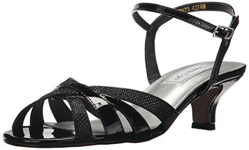 - Touch Ups Women's Jane Heeled Sandal, Black, 9.5 W US