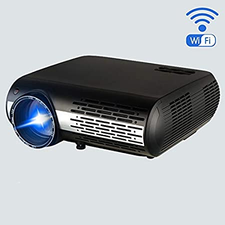 Mini DLP Projector Stereo Speakers Bluetooth 4.0 Dual Band WiFi ...