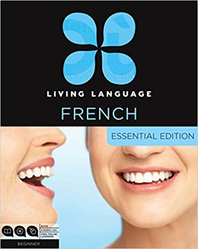 including coursebook Living Language French Essential Edition: Beginner course and free online learning 3 audio CDs