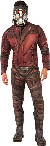Rubie's Men's Marvel Guardians of the Galaxy Vol. 2 Star-Lord Deluxe Costume, Standard from Rubie's
