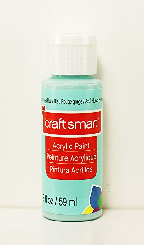 Craft Smart Acrylic Paint 2 Fl.oz. 1 Bottle Robins Egg Blue