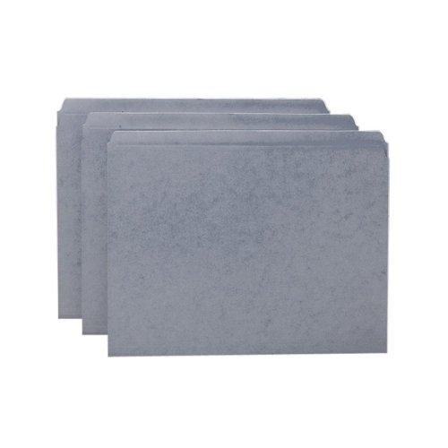 2 Pli Tab (Wholesale CASE of 5 - Smead Assorted 2-Ply Tabs Straight Cut Folders-File Folder, Straight Tab Cut, Letter, 100/BX, Gray)