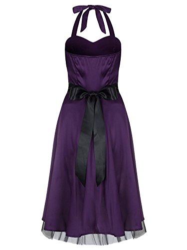 Love Camden - Robe -  Femme Violet Violet