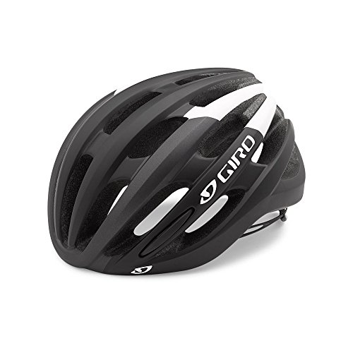Giro Racing Bicycle Helmet - Giro Foray MIPS Road Cycling Helmet Matte Black/White Large (59-63 cm)