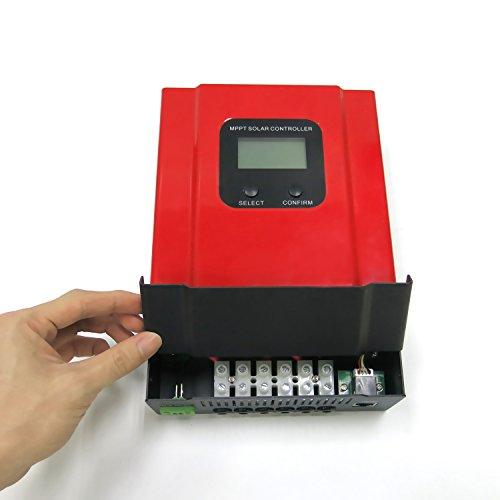 KRXNY 40A MPPT Solar Charge Controller DC 12V/24V/36V/48V Auto Battery Regulator PV 150V Input RS485 Communication by KRXNY (Image #4)