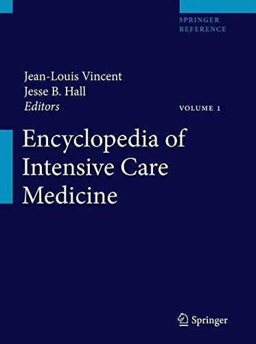 Encyclopedia of Intensive Care Medicine