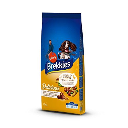 Comprar Brekkies Pienso para Perros Delicious con una Selección de Aves - 12000 gr - Tiendas Online Piensos Especiales para Perros Envíos Baratos o Gratis >