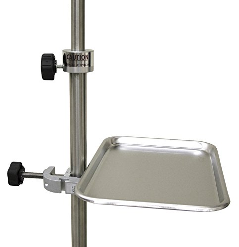 Omnimed 741325C Clamp with Stat Tray by Omnimed