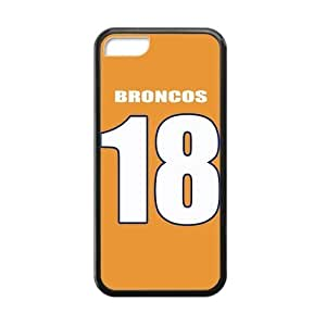 LJF phone case Football Classic 18 Orange Jersey Hot Rubber Case Cover for ipod touch 4
