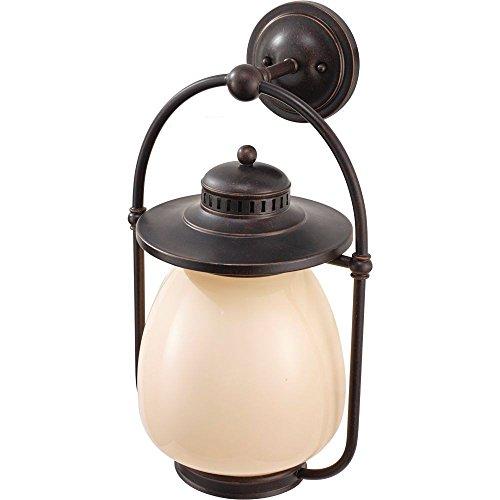 Murray Feiss Lighting OL9304GBZ-F Mc Coy - 20.25 Inch One Light Outdoor Wall Lantern, Choose Lamping Option: Self Ballasted CFL GU24 13 Watt Bulb