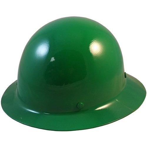 MSA Skullgard Full Brim Hard Hat with STAZ ON Suspension - Green