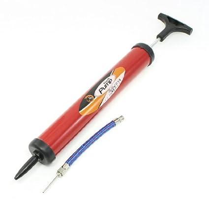 eDealMax globos de plástico Manual de Operación de agarre del cilindro Bomba de aire Forma Rojo