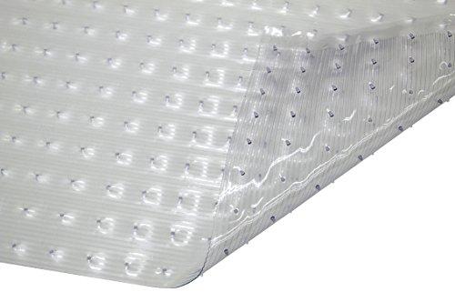 WJ Dennis & Company Precut Vinyl Mat Gripper Backing for Low Pile Carpet 27