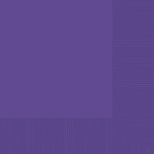 Amscan Disposable Luncheon Napkins Purple product image