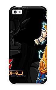 Excellent Iphone 5c Case Tpu Cover Back Skin Protector Super Saiyan Goku