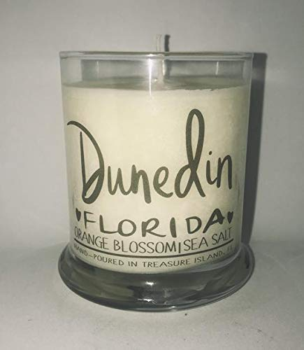 Dunedin Florida Candle Florida Home Candle- Soy Candle- Sunshine State (Landscape State Seminoles Florida)