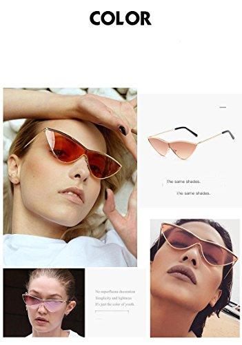 KKCF Gafas UV400 Sol Portátiles Señoras Goldframebluepiece Gafas De De De Gafas Protección Sol Los De Conducción Goldframepink La Playa Manera Hombres De De Gafas Polarizadas ZrrIqU