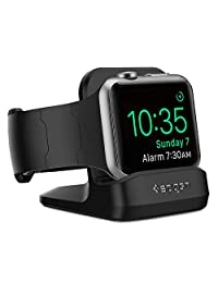 Spigen SGP11584 Apple Watch Stand with Night Stand Mode for Apple Watch Series 4 / Series 3 / Series 2 / Series 1 / 44mm / 42mm / 40mm / 38mm Patent Pending
