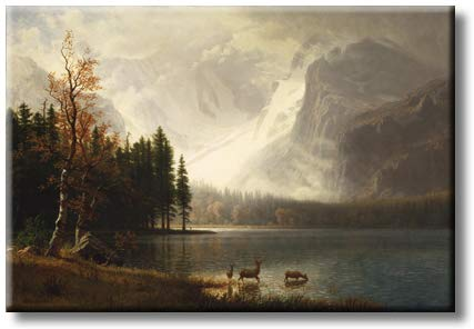 Whyte's Lake Estes Park Colorado Picture on Stretched Canvas, Wall Art Décor, Ready to ()