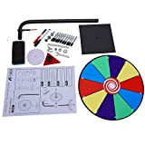 T-SIGN 12 Inch Heavy Duty Spinning Prize Wheel, 10