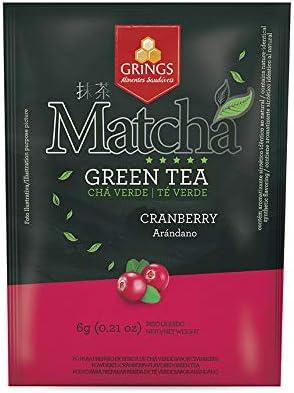 Grings Matcha Fruit Cranberry 6g