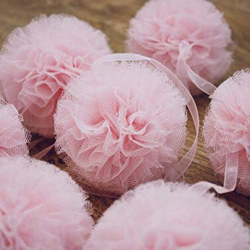 Tulle Pom Pom Garlad Tulle Tutu Centerpiece Fluffy Garlands Ballerina Party Decoration,princess Party Centerpiece,Hanging Garland,Tutu Table,Bridal Shower,Wedding table ()