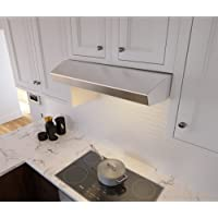 Zephyr AK1236B 400 CFM 36 Inch Wide Under Cabinet Range Hood from the Breeze II, Stainless Steel