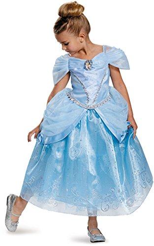 [Disguise Prestige Disney Princess Cinderella Costume, X-Small/3T-4T] (Cinderella Godmother Costumes)