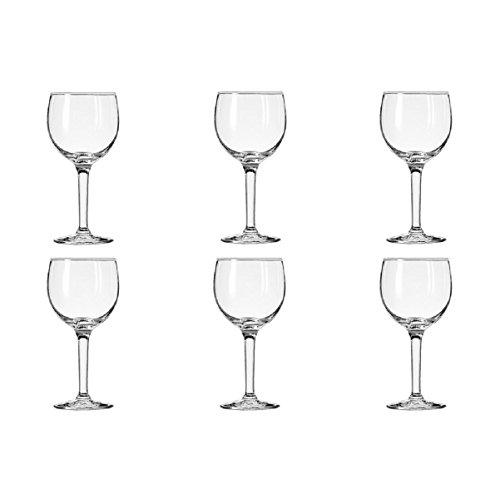round wine glasses - 2