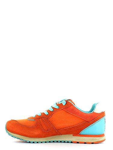 Zapatos nn236 Lotto Donna rojo ARANCIO-CELESTE