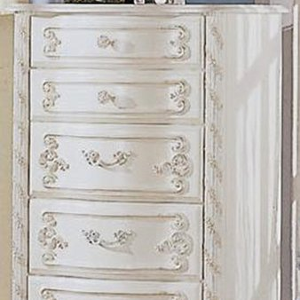 Alexandria White Pearl Lingerie Chest by Coaster - Alexandria White Pearl