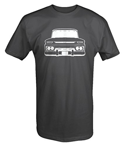 1960-66 Chevy GMC Classic Lowered Pickup Truck C10 C20 Cheyenne T shirt - (C10 C20 Truck)
