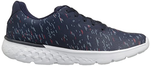Skechers Performance Damen Go Run 400 Obstruct Navy / Pink