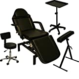InkBed Tattoo Package Hydraulic Table Chair Arm Bar Bed Tray Studio Salon Spa Equipment
