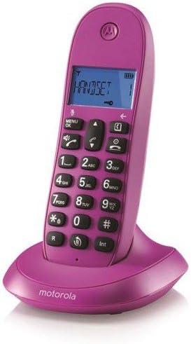 Motorola MOT31C1001VI - Teléfono inalámbrico: Amazon.es: Electrónica