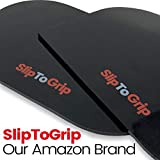 New SlipToGrip Premium Cell Pads 2 Pack - Universal Cell Pads and Alcohol Pad. Sticky Anti-Slip Gel Pads - Holds Cell Phones in Cars and Trucks, Sunglasses, Coins, Golf Cart, Boating, Speakers.