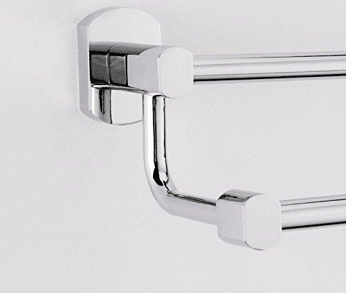 Yomiokla Bathroom Accessories - Kitchen, Toilet, Balcony and Bathroom Metal Towel Ring European-Style Luxury All-Copper Fittings