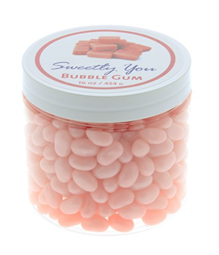 Jelly Belly 1 LB Bubble Gum Flavored Beans.  Bulk Jelly Bean