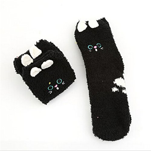 TraveT Ankle Towels Winter Animal