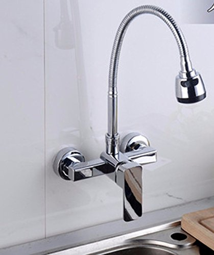 AWXJX stainless steel copper Lead-free kitchen Hot and cold Rotate sink Faucet by AWXJX Sink faucet