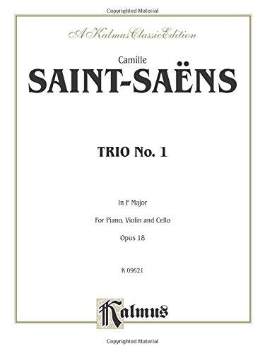 Three Trios, Opus 38 : For Violin, Viola and Cello: 0 (Kalmus Edition)