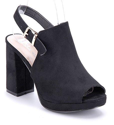 Schuhtempel24 Damen Schuhe Plateausandaletten Sandalen Sandaletten  Blockabsatz 10 cm High Heels - china-express-sn.de 42ffd99184