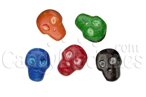 Candy By The Pound - 1 Pound Bag of Skulls Candy]()