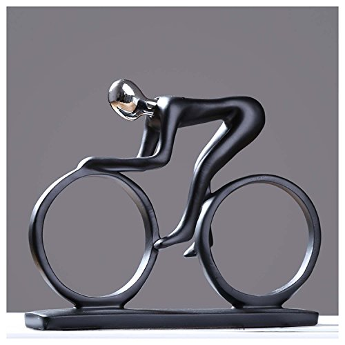 DU&HL Abstract Decoration Decoration Creative Simple Rider Decoration Modern Home Office Living Room TV Cabinet Crafts, Cyclist Rider by DU&HL (Image #7)